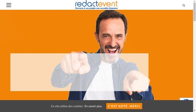 Site internet de Redactevent