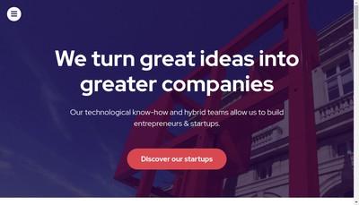 Site internet de Redfabriq
