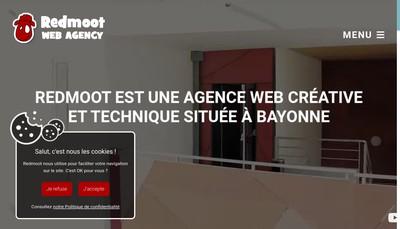 Site internet de Redmoot