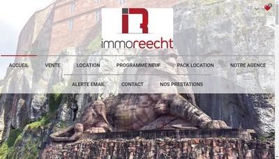 Site internet de Immo Reecht