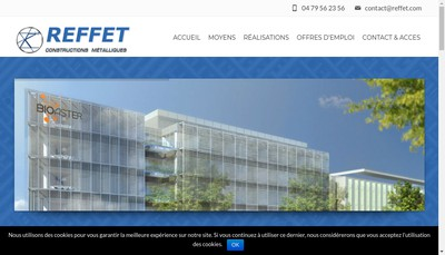 Site internet de Reffet