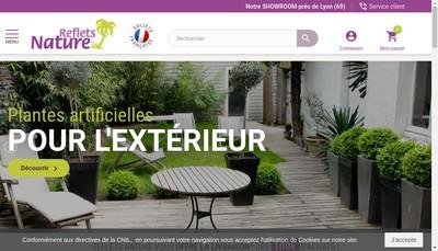 Site internet de Reflets Nature
