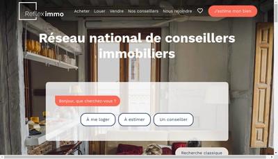 Site internet de Refleximmo