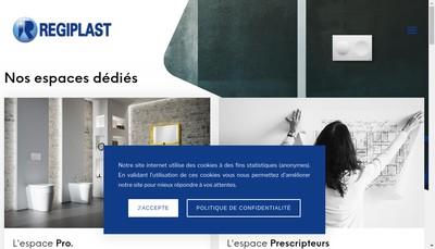 Site internet de Regiplast