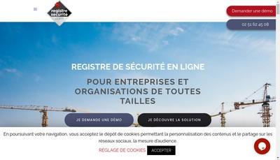 Site internet de Registresecurite Com
