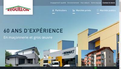 Site internet de Etablissements Reguillon et Cie