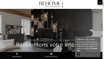 Site internet de Rehome