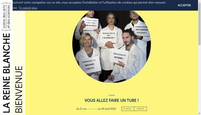 Site internet de Reine Blanche