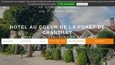 Site internet de SA Relais d'Aumale