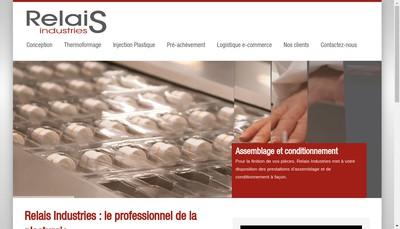 Site internet de Relais Industries