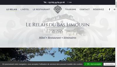 Site internet de Le Relais du Limousin