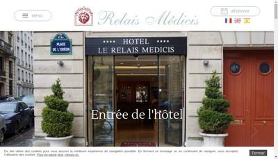 Site internet de Hotel-le Relais Medicis