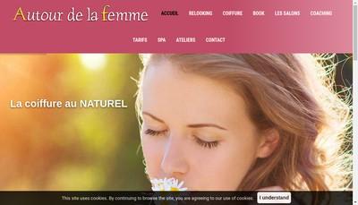 Site internet de Autour de la Femme