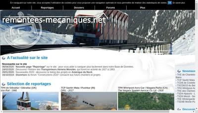 Site internet de Societe des Remontees Mecaniques les Houches - Saint Gervais