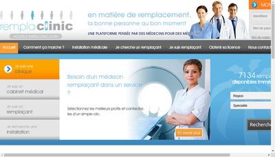 Site internet de Rempla Clinic