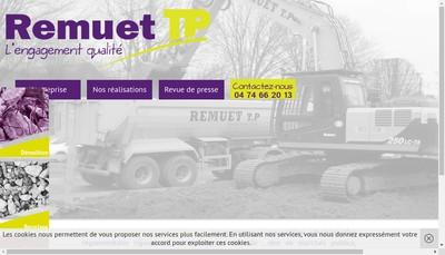 Site internet de Remuet Tp