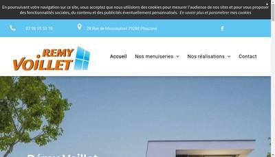Site internet de SARL Remy Voillet