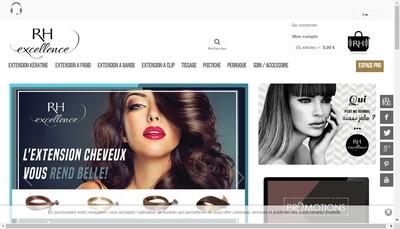 Site internet de Remy Hair Excellence