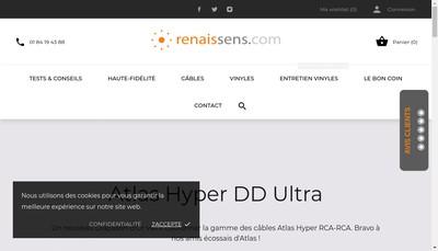 Site internet de Renaissens
