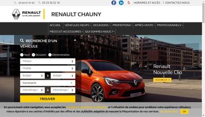 Site internet de St Total Charbon