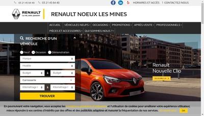 Site internet de Garage de la Gohelle