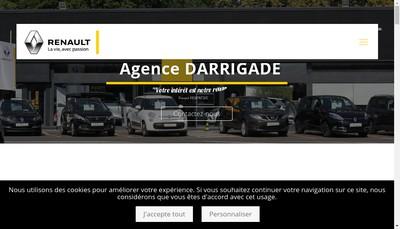 Site internet de Agence Darrigade
