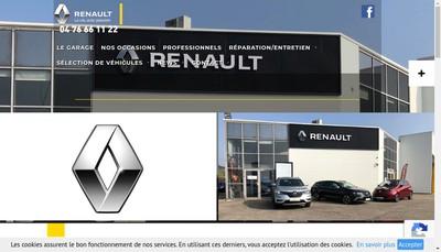 Site internet de Performance Automobiles
