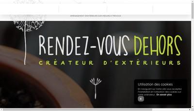Site internet de Rendez Vous Dehors
