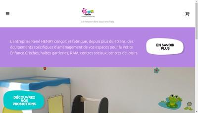 Site internet de Henry Rene