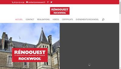 Site internet de Reno Ouest France