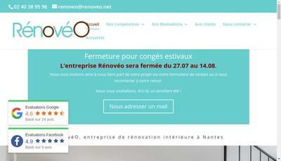 Site internet de Renoveo