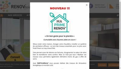 Site internet de Renov'Baies 62