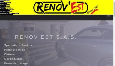 Site internet de Renov'Est