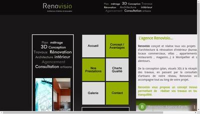 Site internet de Renovisio