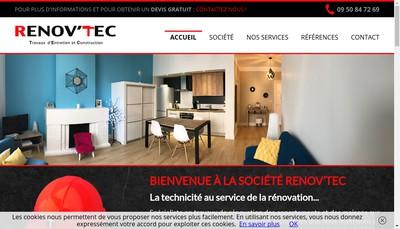 Site internet de Renov'Tec