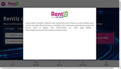 Site internet de Aixia Location