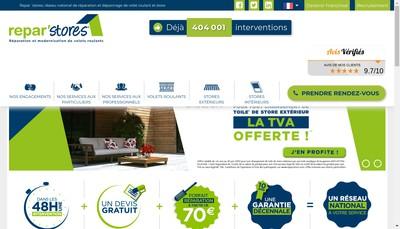 Site internet de Repar Stores