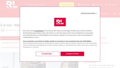 Site internet de Le Republicain Lorrain