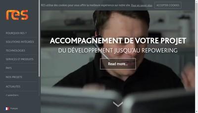Site internet de Res