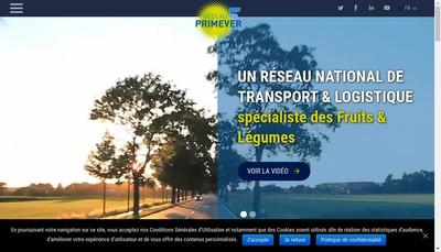 Site internet de Prim@Ever Immo