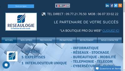 Site internet de Reseaulogie