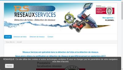 Site internet de Reseaux Services