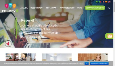 Site internet de Interface Technologies