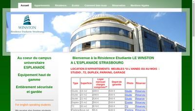 Site internet de Le Winston