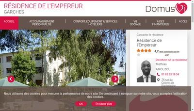Site internet de Residence de l'Empereur