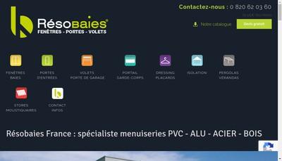 Site internet de Alu Estagel