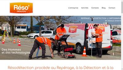 Site internet de Resodetection