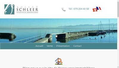 Site internet de Ressources Immobilieres