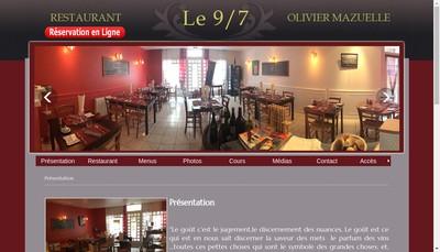 Site internet de 9 7 Olivier Mazuelle