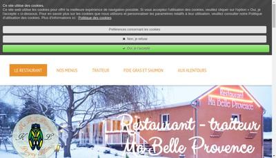 Site internet de Ma Belle Provence